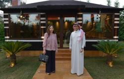 """""""بخاري"""" يبحث مع الأمينة التنفيذية للاسكوا مبادرتي السعودية الخضراء والشرق الأوسط الأخضر"""