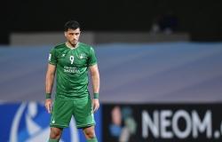الآسيوي: السومة أفضل لاعب في مباراة الأهلي والدحيل