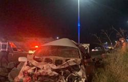 حالة وفاة و4 إصابات في حادث تصادم على طريق العقيق بالباحة