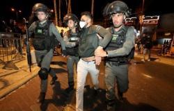 إصابة 100 فلسطيني في اشتباكات مع المتطرفين اليهود بالقدس الشرقية