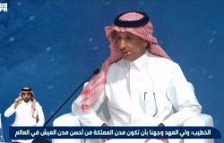 """الخطيب: لدينا توجيه لتصبح مدن السعودية عالمية.. وأسسنا """"١٠٠٠"""" شركة في الترفيه"""