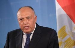 وزيرا الخارجية والري في مصر يبحثان مع المبعوث الأمريكي مستجدات مفاوضات سد النهضة