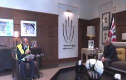 شاهد لقاء الملك مع السبعيني محمد العياصرة صاحب مبادرة الحفاظ على القرآن الكريم