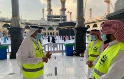 """9 آلاف ساعة قدّمها 75 متطوعاً من """"تعليم مكة"""" بالمسجد الحرام"""