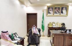 """محافظ الزلفي يلتقي رئيس دائرة النيابة العامة الجديد """"آل عمار"""""""