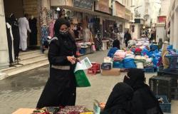 """""""صحة مكة"""" تنفذ حملة توعوية في سوق شعبي بـ""""أولوية التطعيم"""" لكبار السن"""