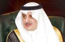 """أمير تبوك يُواسي أسرة """"الشثري"""" في وفاة الشيخ """"ناصر"""""""