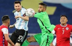 بمشاركة ميسي .. الأرجنتين تتعادل مع تشيلي في كوبا أمريكا (فيديو)