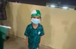 فيديو.. أصغر مشجعة للأخضر تعبّر عن سعادتها بفوز المنتخب وتأهله