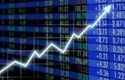 """مؤشر """"الأسهم السعودية"""" يغلق مرتفعاً عند 10855 نقطة"""