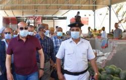 محافظ أسوان يشيد بدور مديرية الأمن في تنفيذ حملات إزالة الإشغالات