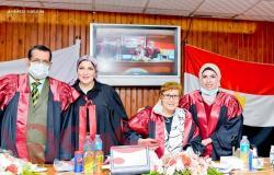 الباحثة سارة البش تحصل على درجة الدكتوراة في الإعلام من جامعة المنصورة
