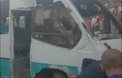 «لو فيه ملابس منشورة القطار هيشيلها».. أحمد موسى يعرض صورا كارثية بعد «حادث حلوان» (فيديو)