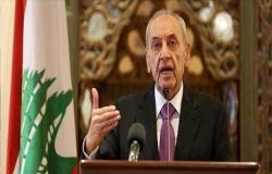 """رئيس البرلمان اللبناني: عقبات تشكيل الحكومة """"داخلية محضة"""""""