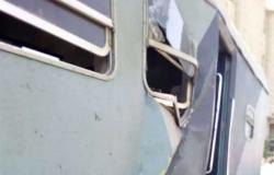 خاص لـ«المصري اليوم»: 37 مصاب حصيلة حادث قطار محطة مصر بالإسكندرية أغلبها كسور وجروح