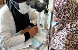 الكشف وتقديم العلاج لـ230 مواطنًا وتوفير 32 نظارة طبية في قافلة ببني سويف
