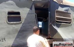 التحفظ علىسائق قطار الإسكندرية.. والنيابة تستدعي مسؤوليمحطة مصر