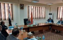 محافظ بورسعيد يترأس اجتماع مجلس إدارة المنطقة الصناعية جنوب بورسعيد