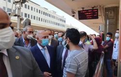 بعد جولة للوزير في محطة مصر.. تحقيق فوري وعقوبات مغلظة لموظفين بالسكة الحديد
