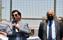 وزير الرياضة يبحث مع مجلس إدارة استاد القاهرة المشروعات الاستثمارية والإنشاءات الجديدة