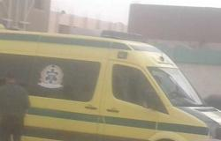 مصرع عامل وإصابة 5 نتيجة انقلاب سيارة ملاكي في بنى سويف