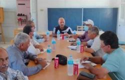 مدير الشباب والرياضة في شمال سيناء يتفقد مراكز شباب بئر العبد