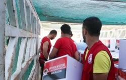 وزيرة التضامن تعلن إطلاق الهلال الأحمر المصري معونة الدعم الإغاثي للفلسطينيين