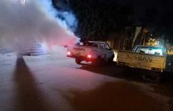 حملات مكثفة للنظافة ورفع الإشغالات في مدن كفر الشيخ