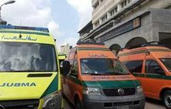 إصابة 4 أشخاص فى انقلاب سيارة على صحراوي أسوان