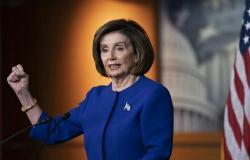 رئيسة مجلس النواب الأمريكي تستقبل الملك وولي العهد في مبنى الكابيتول