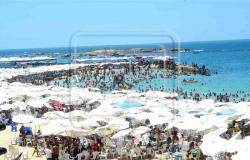 رغم غلقه بقرار من النيابة .. غرق شخصين تسللا للسباحة بشاطئ النخيل بالإسكندرية
