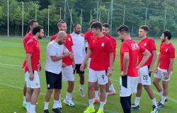 المنتخب الأولمبي يستعد لمواجهة الأرجنتين ..صور