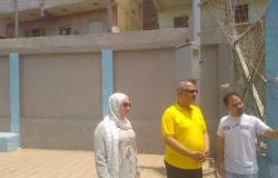 «الشباب والرياضة» يتفقد 7 مراكز شباب ضمن مبادرة حياة كريمة في شبين القناطر