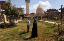 حملات لرفع كفاءة النظافة العامة في مدينة سيدي غازي بكفر الشيخ