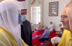 بالفيديو.. ماذا قال مسنّ بوسني لوزير الشؤون الإسلامية خلال زيارته لمسجد بسراييفو؟