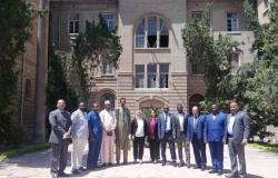 وفد أكاديمي تشادي يتفقد معامل ومنشآت «علوم الإسكندرية» لبحث التعاون المشترك