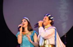 وزيرة الثقافة تشهد المشاركة الأولى لأصغر مغنية مصرية في أوبرا فيينا