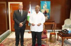 الرئيس الجيبوتي يشيد بالخطوات المتسارعة على صعيد إرساء شراكة استراتيجية بين مصر وجيبوتي