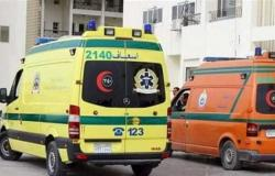 مصرع شخص وإصابة 14 آخرين في انقلاب سيارة ميكروباص بالشرقية
