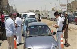 ضبط 491 مخالفة مرورية في أسوان