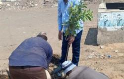 زراعة 1500 شجرة مثمرة بمدينة سيدي غازي