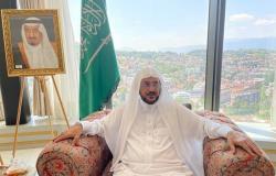 وزير الشؤون الإسلامية يُثني على جهود سفير خادم الحرمين في البوسنة