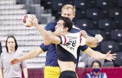 مباراة منتخب مصر لكرة اليد والبحرين مباشر الآن في أولمبياد طوكيو 2020