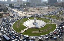 تحويلات مرورية لإنشاء كوبري سيارات بمحور عدلي منصور في القاهرة