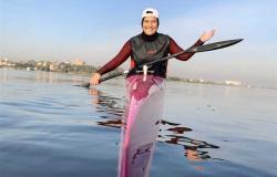 أولمبياد طوكيو 2020.. سما فاروق تحتل المركز السابع في منافسات الكاياك
