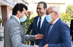محمد حسين لأبطال اليد: شرفتم مصر