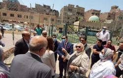 تجارة جامعة عين شمس تنظم قافلة لمحو الأمية بحي العجوزة