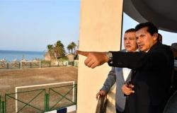 وزير الرياضة ومحافظ البحر الأحمر يناقشان انشاء استاد للغردقة