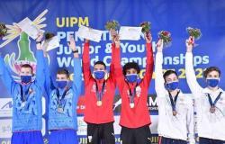 بيلاروسيا تتصدر منافسات تتابع المختلط للسباحة ببطولة العالم للخماسي الحديث