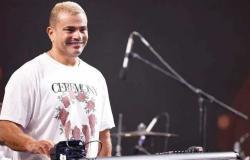 بالكاچوال .. عمرو دياب يتألق في حفل بالقاهرة (صور)